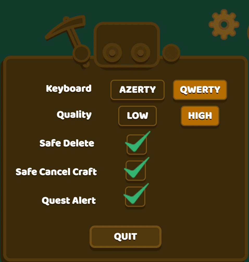 Option in game